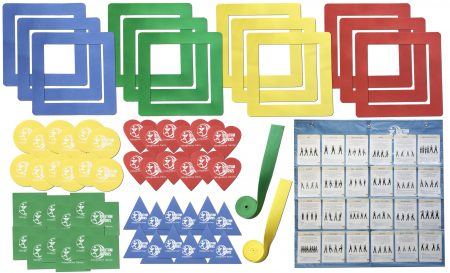 Large Visual Aids Kit - Floor Spot Markers