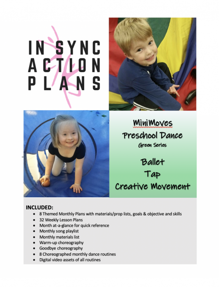 MiniMoves - Green Series - Lesson Plans